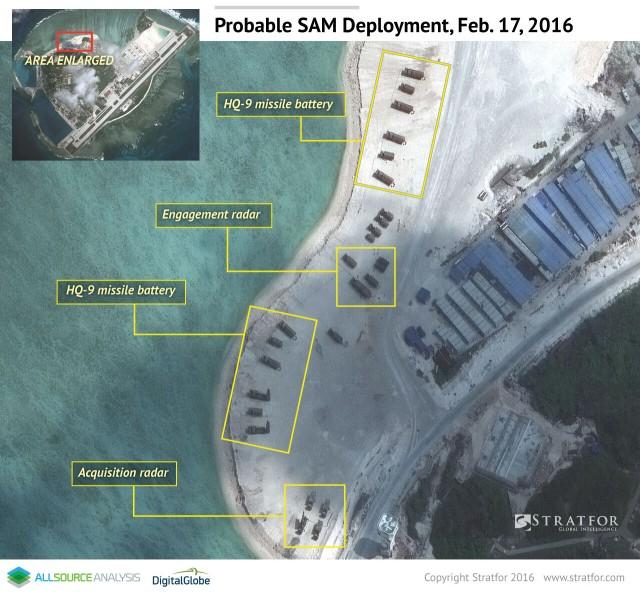 Islas en conflicto en Sudasia- Spratley,Paracel - conflictos, documentacion, acuerdos y articulos South_china_sea_focal_point_02_18_2016_3