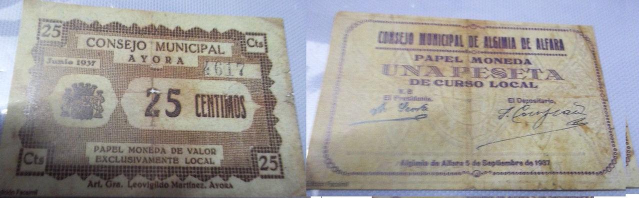 Al loro con PRESUNTO estafador de billetes locales valencianos Image