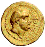 Glosario de monedas romanas. DOMITIO AHENOBARBUS. Image