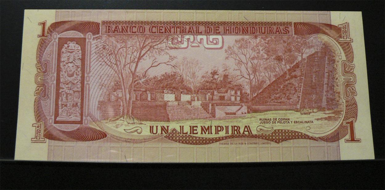 1 Lempira Honduras, 1978 Hnd62r