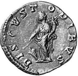 Glosario de monedas romanas. DIS CUSTODIBUS. Image