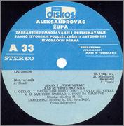 Sinan Sakic  - Diskografija  Sinan_Sakic_1990_LP_A_strana
