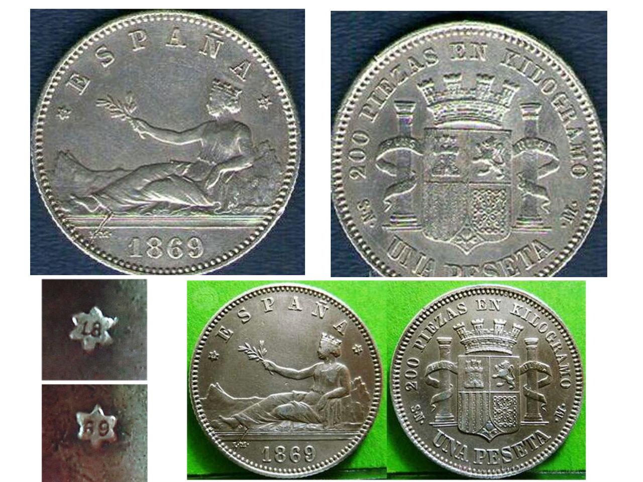 "1 Peseta 1869 Gobierno Provisional con resello ""R"", ¿ que es esto ? 1_Peseta_1869_Spain"