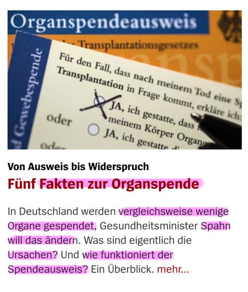 Organspende / Transplantation Orga_04