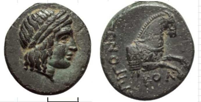 Bronce de Jonia, Colofón (360-350 a.C.) Capturas