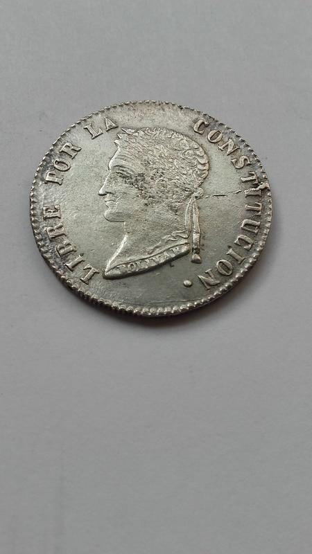 4 soles 1858 Bolivia -Potosi 14779160615631477171663