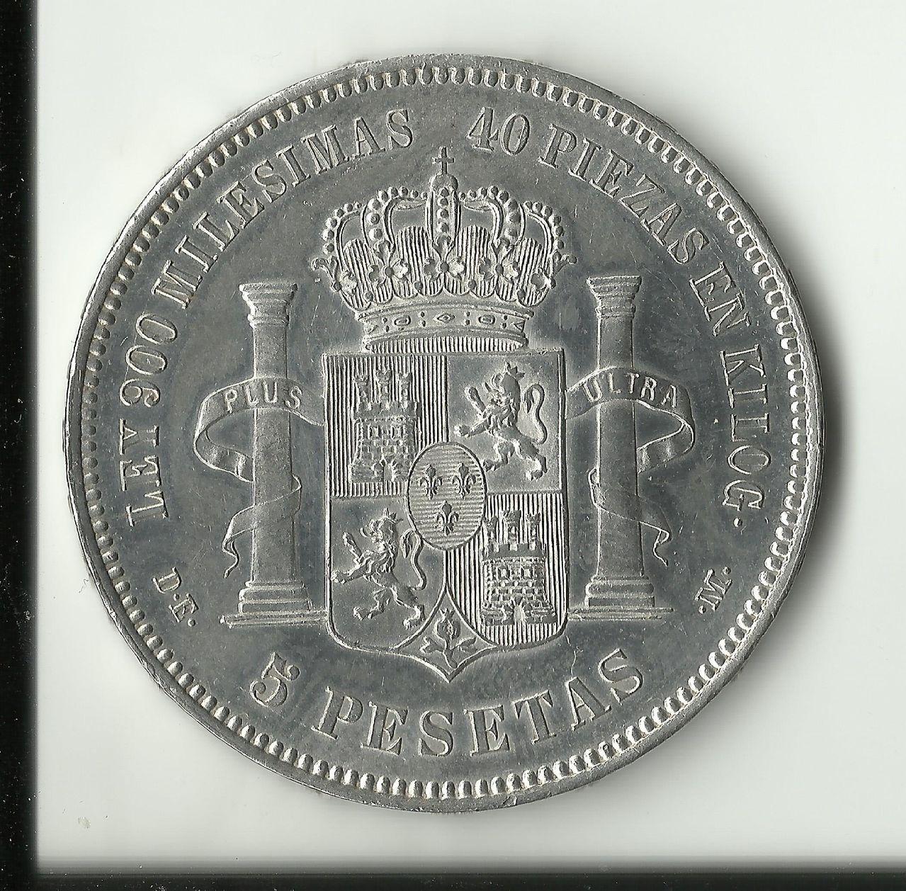 5 pesetas 1876 *18*76 - Alfonso XIII. 5_ptas_1876_sc_anv