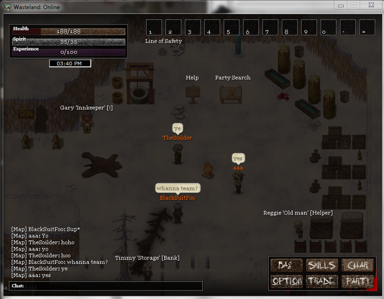Wasteland Online - Updated Screenshots 2 (Online Players & Bag)   Sup_niga