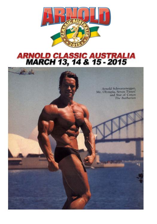 Arnold Classic Australia Arnold13