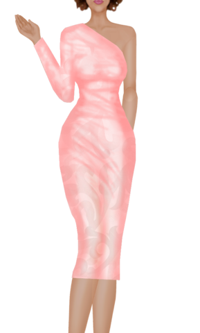 Fashion Peach_Dress