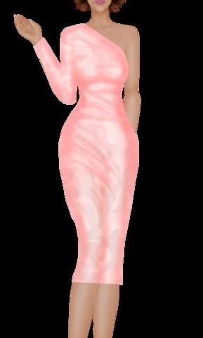 Fashions Peach_Dress