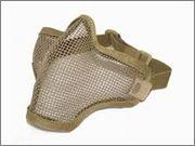 Protección Facial / Bucal en Airsoft Rejilla1