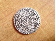 Tibet, Tangka de plata P1400084