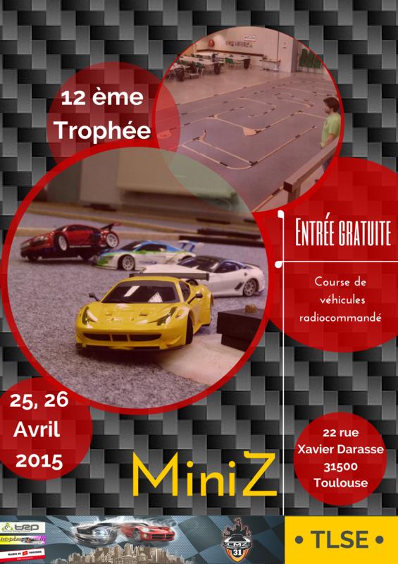12 ème Trophée CMZ31, le 25 et 26 Avril 2015 Design
