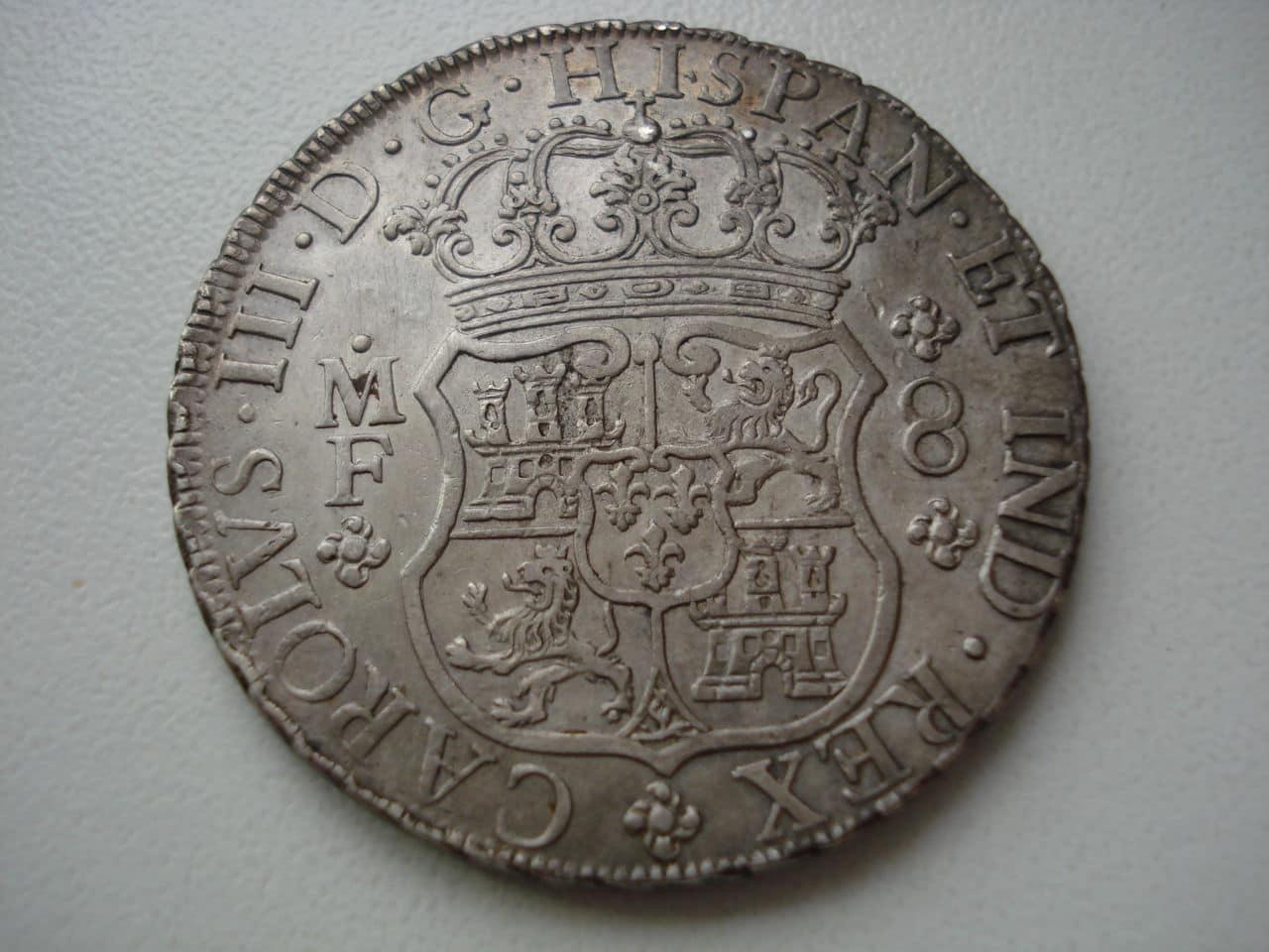8 reales tipo columnario de Carlos III, Méjico. 1767. Monadas2_008