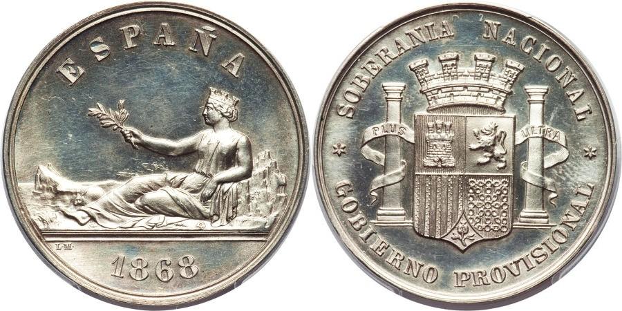 HERITAGE.Moneda Española 882665l