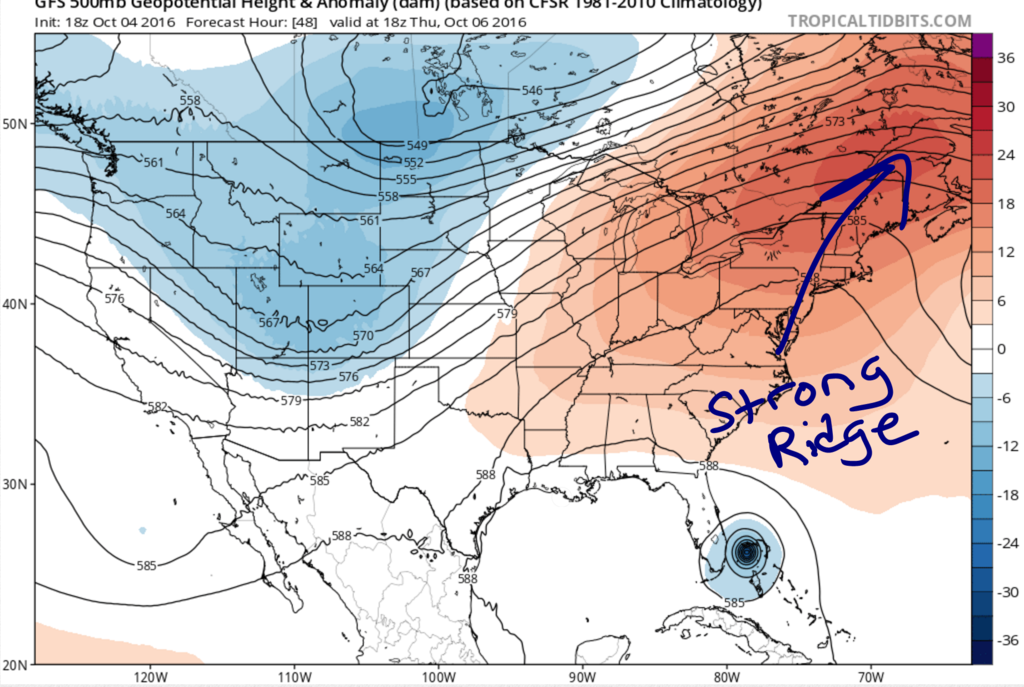 Hurricane Matthew Update  Gfs1