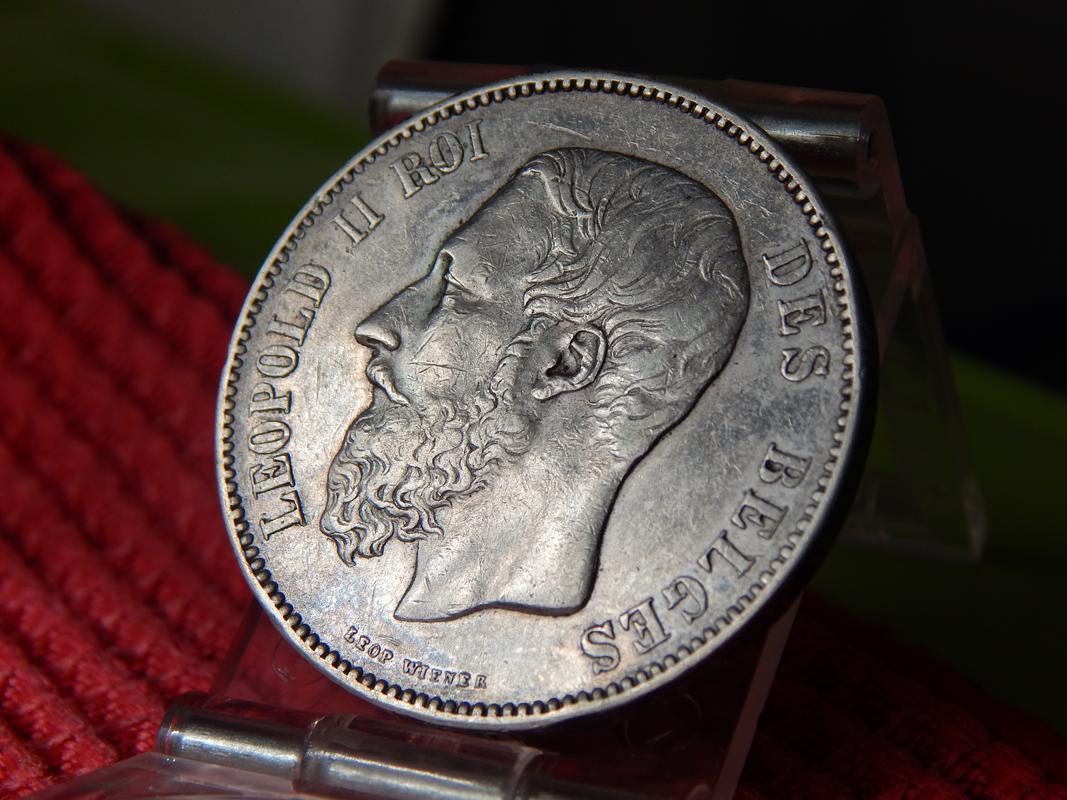 5 FRANCOS BELGICA 1873 DSCN2777