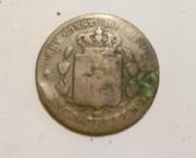 Moneda Alfonso Xll 1878 con Fallo en acuñación Sdfdf