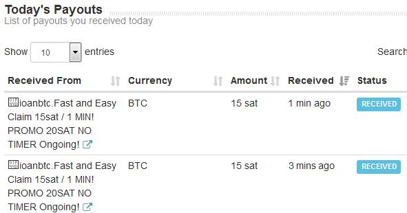 Faucet de bitcoin, reclama 15 satoshis cada minuto!! Ioan