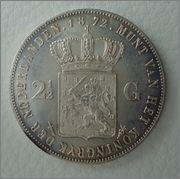2 1/2 GULDEN 1872  Willen III HOLANDA  Image
