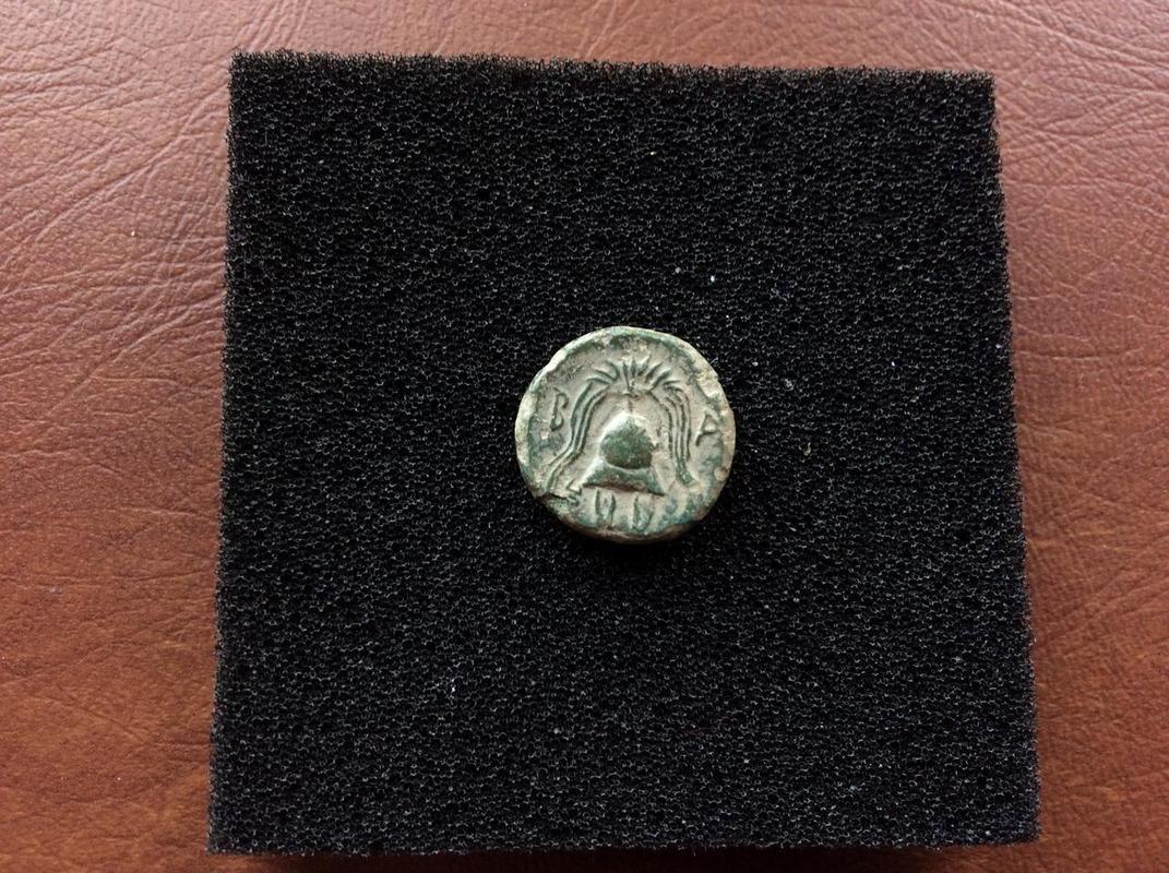 Reyes de Macedonia Philip III Arrhidaios Æ 1/2 Salamis IMG_4981