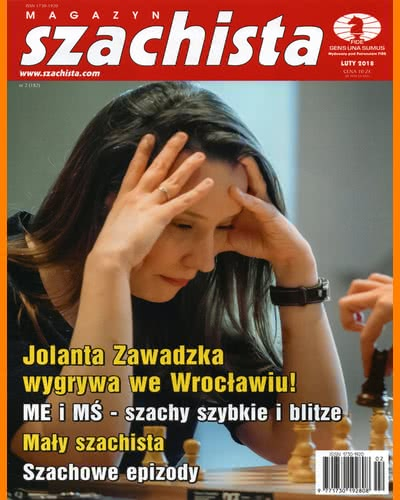 CHESS PERIODICALS :: Magazyn SZACHISTA (Polish Chess Monthly Magazine) Ms_2018-02