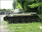 Советский средний танк Т-34, музей Polskiej Techniki Wojskowej - Fort IX Czerniakowski, Warszawa, Polska 34_004