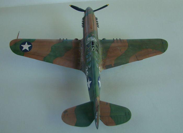 P-40E, Hobby Boss, 1/72 DSC03372