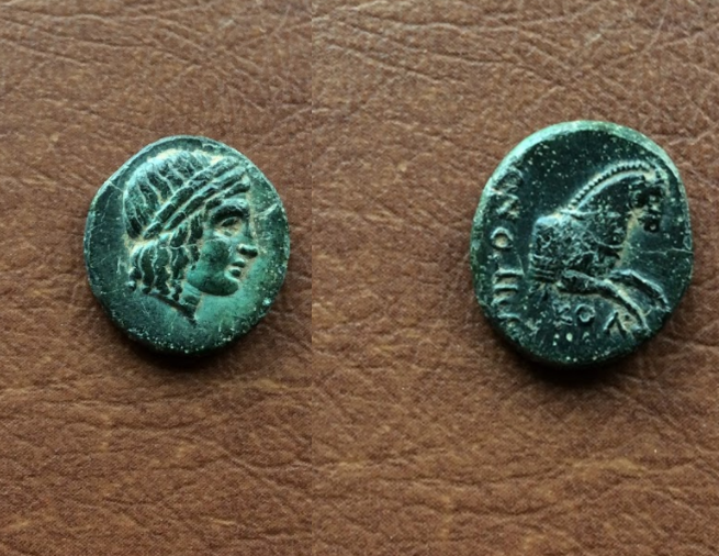 Bronce de Jonia, Colofón (360-350 a.C.) Captura