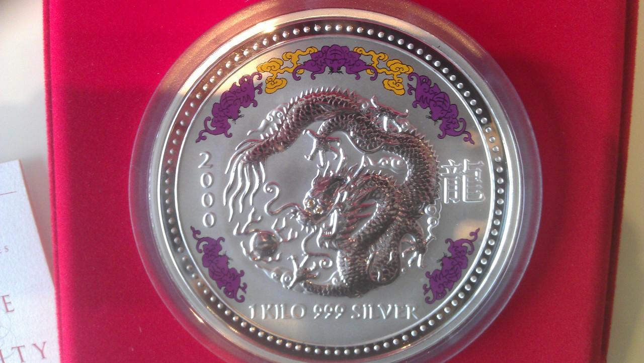 30 Dollrs (1 DRAGON.1 kilo Serie Lunar) Australia. 2000  IMAG0207
