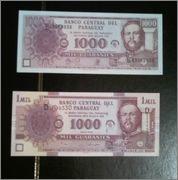 1000 Guaraníes Paraguay, 2006 Unmil