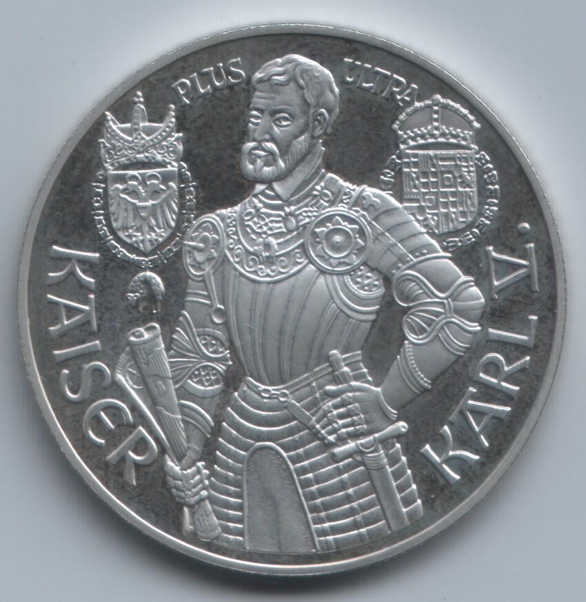 100 schilling Carlos V 1992 Austria 1