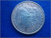 1 dolar Morgan 1885  1_dolar_morgan_1885_anverso
