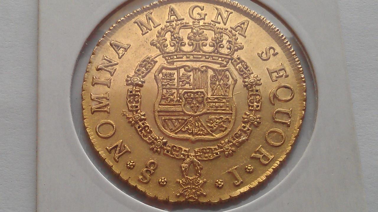 8 escudos 1751. Fernando VI. Santiago. (Emiliano dedit). IMAG0499