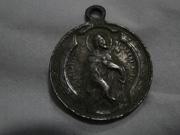 Medalla Virgen de Guadalupe / Sagrado Corazón de Jesús s.XX Medalla