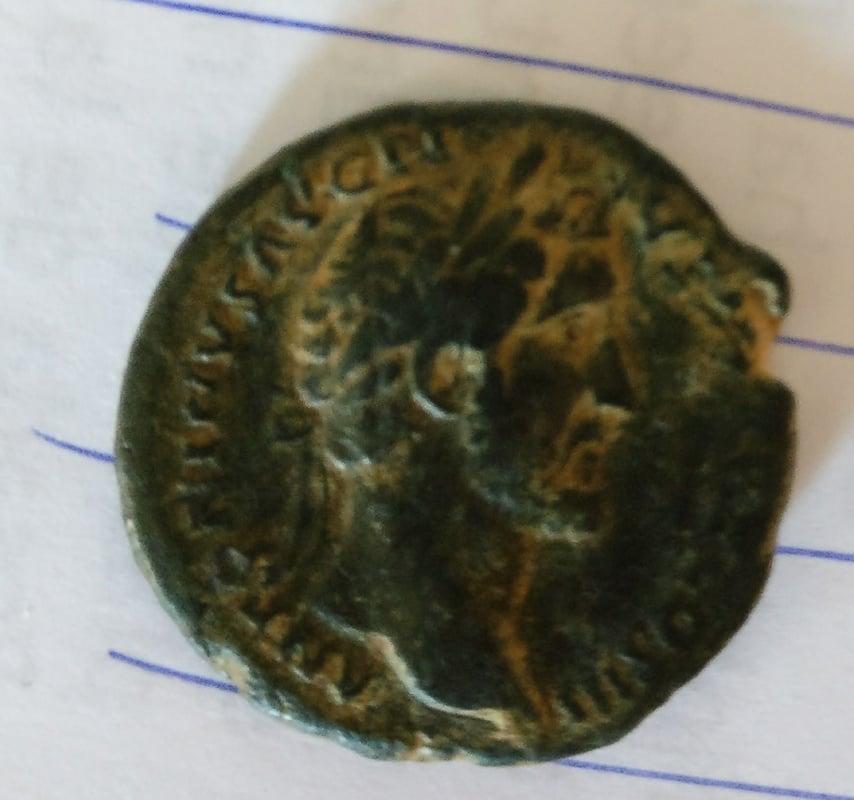 As de Antonino Pío. IMPERATOR II - S C. Spes avanzando a izq. Ceca Roma. IMG_20170225_092434_01