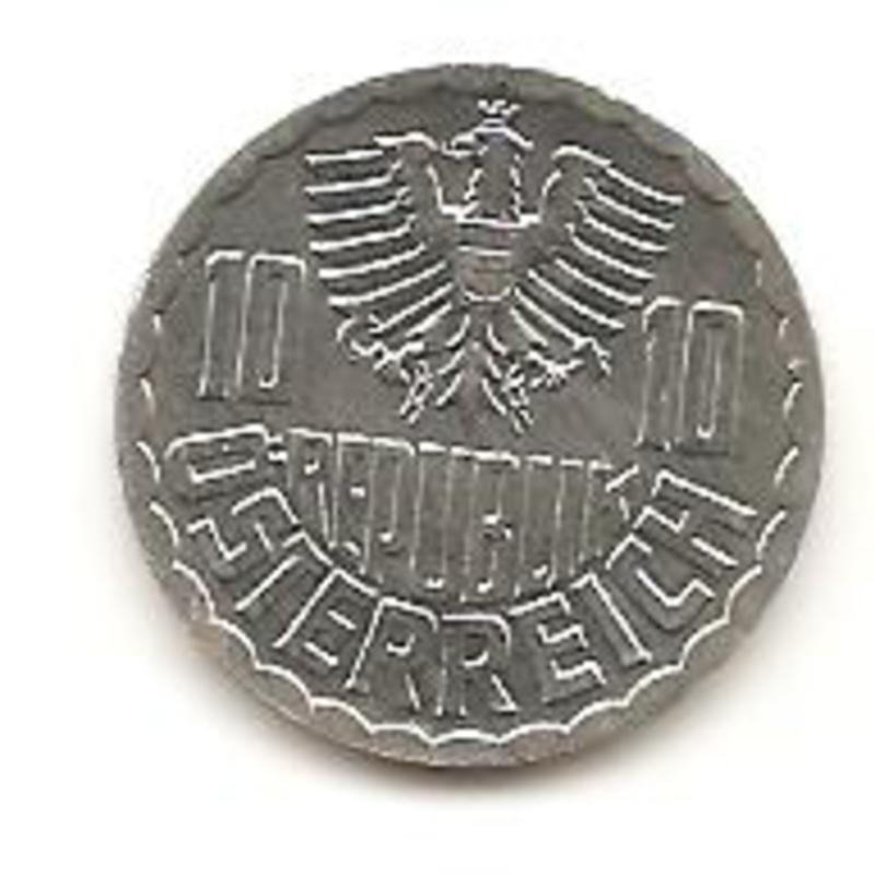 Austria 10 groschen de 1995 Image