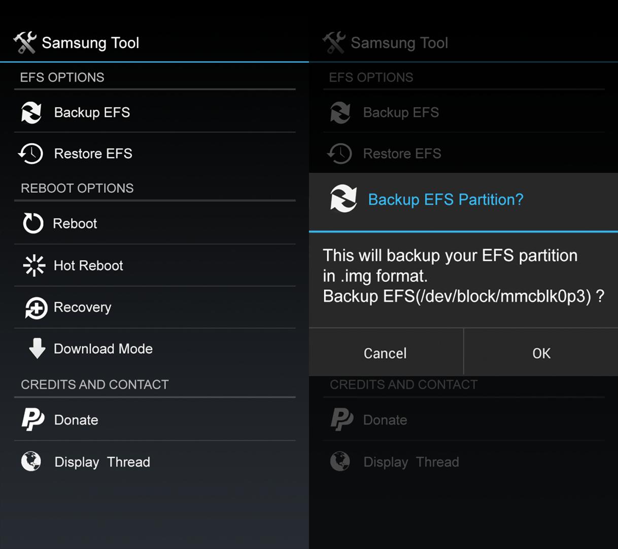 backup EFS -  [TOOL] [EFS] [APP] Samsung Tool 1.0 /V5/[BACKUP / RESTORE na zařízení] Image
