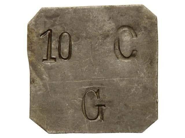 Moneda de 5 Cts. Gratallops rarísima 115587l