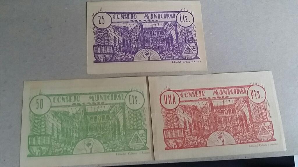 Billetes Consejo Municipal de Alacañiz Local_4
