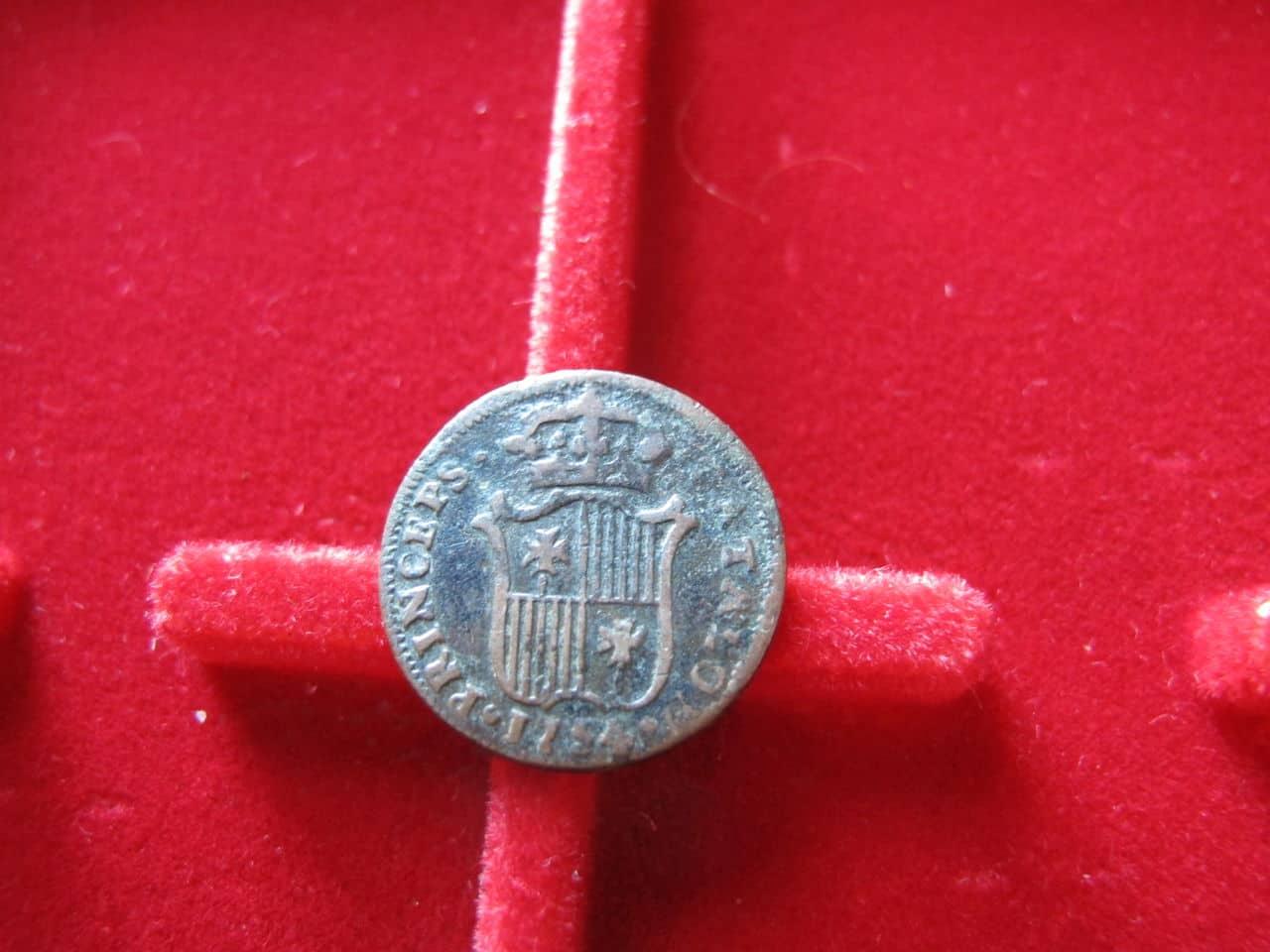 Ardite 1754. Fernando VI. Segovia. IMG_3505