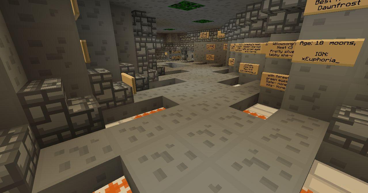 The Eternal Forest Warriors RP Minecraft Server TC_warriors_den