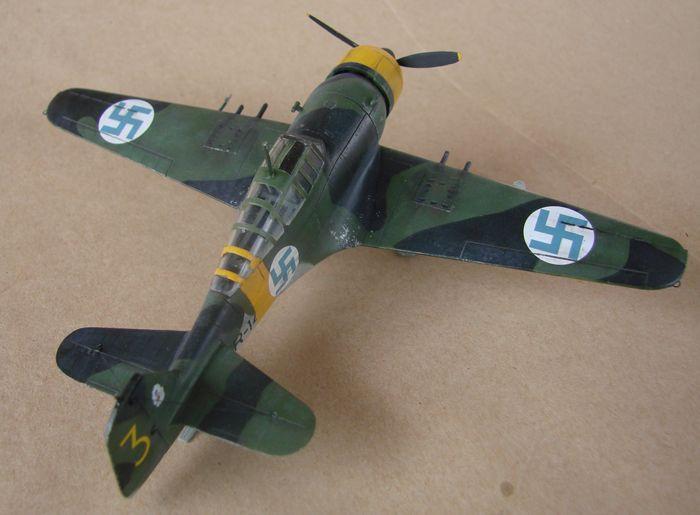 Finski Fokkeri D.XXI, Special Hobby, 1/72 DSC01482