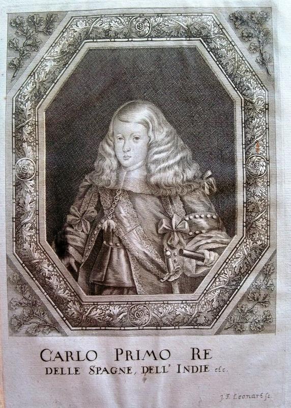 1 Ducado de Carlos II, 1693 ceca de Nápoles, dedicado a Lanzarote 100_1931_1