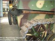 """Немецкая 15,0 см САУ """"Hummel"""" Sd.Kfz. 165,  Deutsches Panzermuseum, Munster, Deutschland Hummel_Munster_066"""