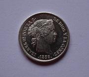1 real 1859. Isabel II. Madrid DSC00776