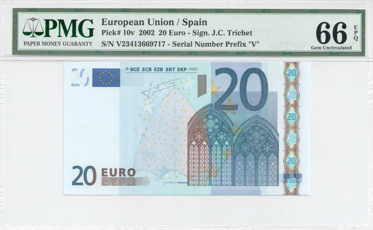 Colección de billetes españoles, sin serie o serie A de Sefcor - Página 3 20_euros_trichet_anverso