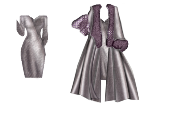 mykelbe grape dress and coat Kelbe_grape_combo