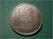 10 Francos 1937 REP. Francesa P1250394